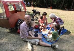 Picknick aan kasteel Boterberg